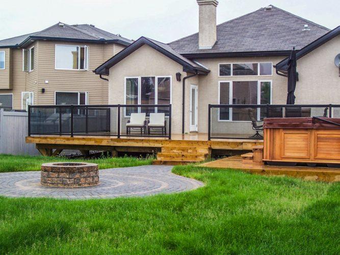 Edmonton Landscaping Decks