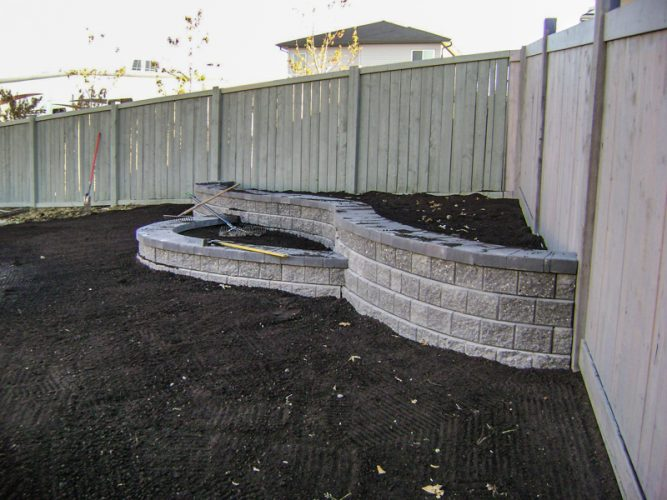 Edmonton Landscaping Walls and Gardens