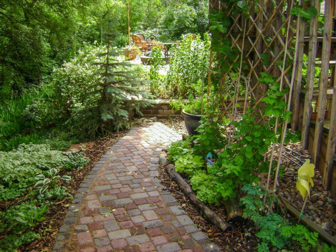 Edmonton Landscaping Pathway