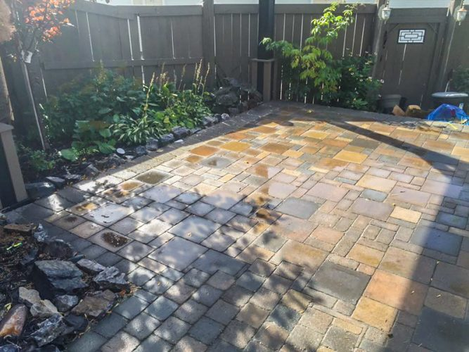 Edmonton Landscaping Patio
