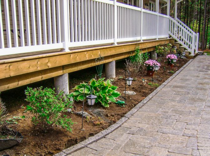 Edmonton Landscaping walkways pathways